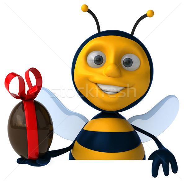 Leuk bee chocolade ei werknemer honing Stockfoto © julientromeur