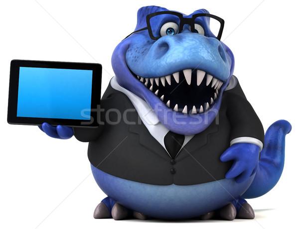 весело 3d иллюстрации бизнеса бизнесмен Финансы зубов Сток-фото © julientromeur