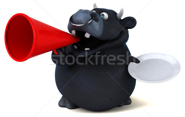 黒 牛 3次元の図 食品 髪 牛 ストックフォト © julientromeur