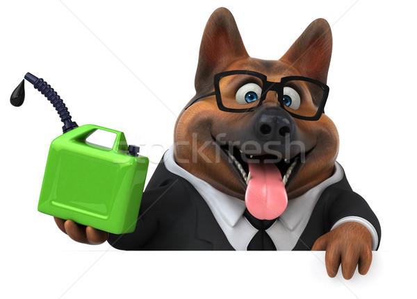 пастух собака 3d иллюстрации костюм энергии животного Сток-фото © julientromeur