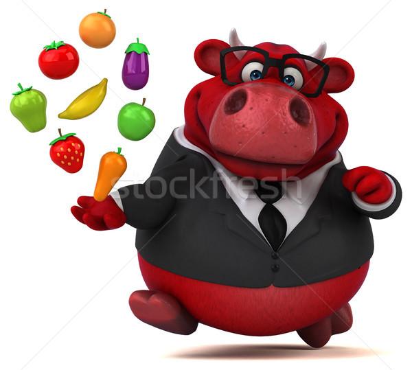Red bull - 3D Illustration Stock photo © julientromeur