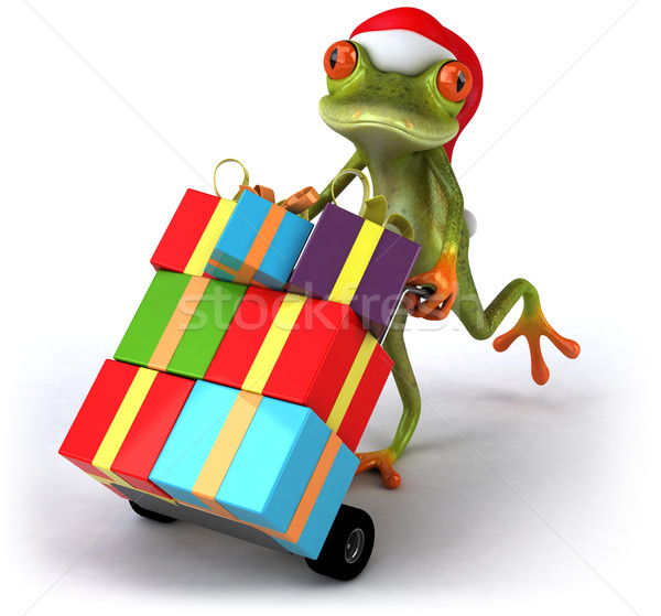 Frog and gifts Stock photo © julientromeur