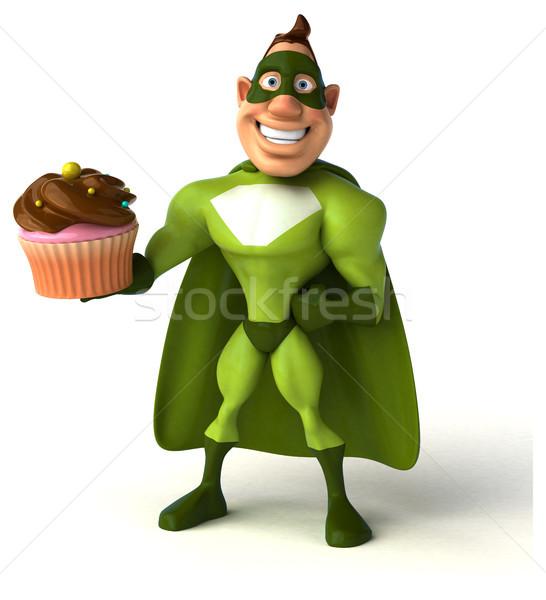 Fun superhero Stock photo © julientromeur