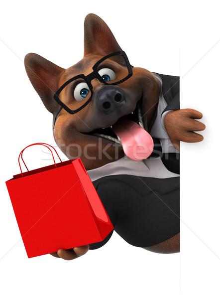 German shepherd dog - 3D Illustration Stock photo © julientromeur
