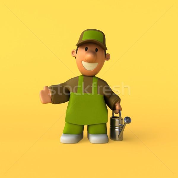 Gardener - 3D Illustration Stock photo © julientromeur