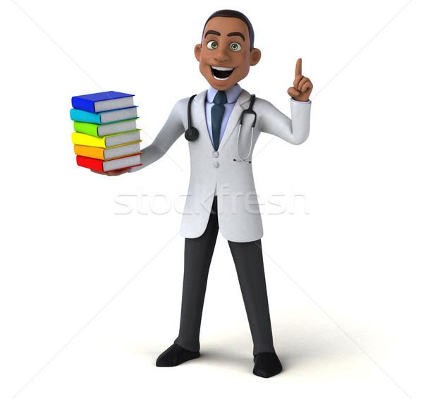 Amusement médecin livre coeur santé hôpital Photo stock © julientromeur