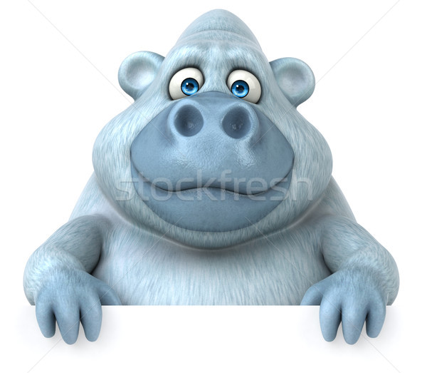 Fun yeti Stock photo © julientromeur