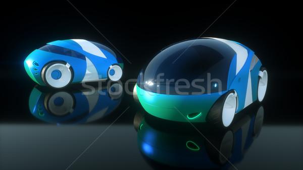 Carro projeto ilustração 3d esportes metal ciência Foto stock © julientromeur