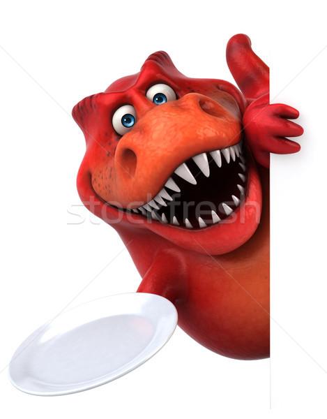 Fun dinosaur - 3D Illustration Stock photo © julientromeur