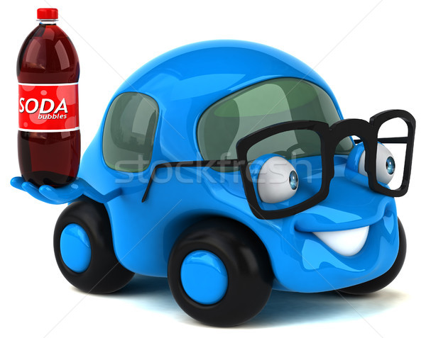 Fun car - 3D Illustration Stock photo © julientromeur