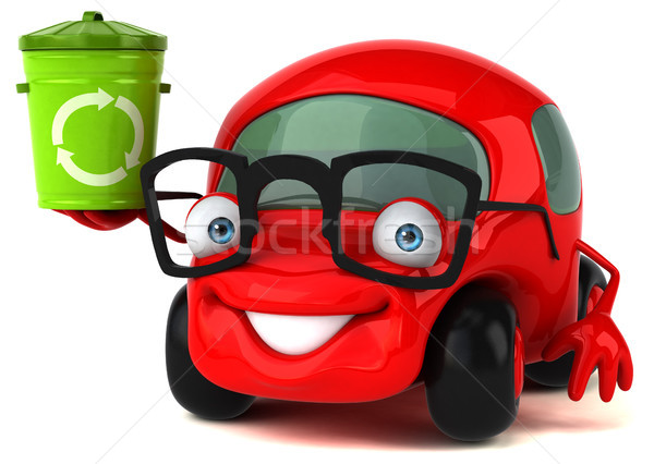 Fun car - 3D Illustration Stock photo © julientromeur
