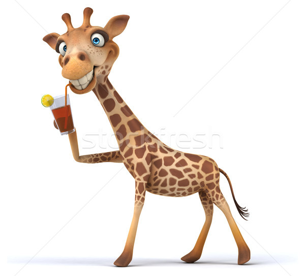 Fun giraffe Stock photo © julientromeur