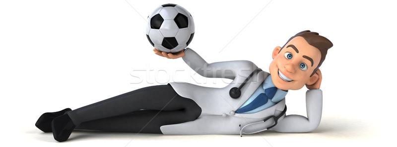 Amusement médecin sport coeur santé hôpital Photo stock © julientromeur