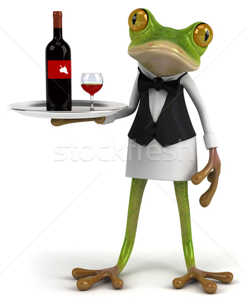 French frog Stock photo © julientromeur