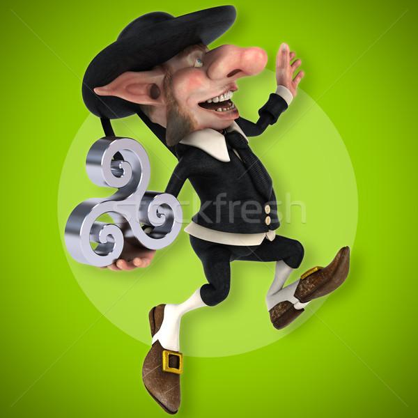 Fun Korrigan - 3D Illustration Stock photo © julientromeur