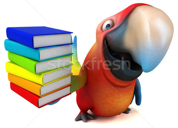 Fun parrot Stock photo © julientromeur