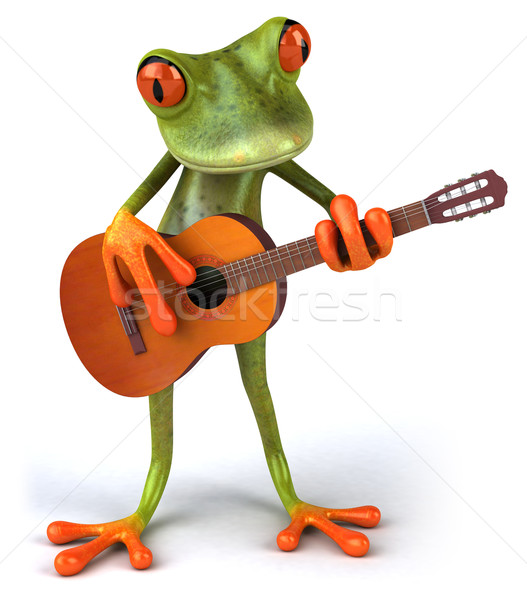 Fun frog Stock photo © julientromeur