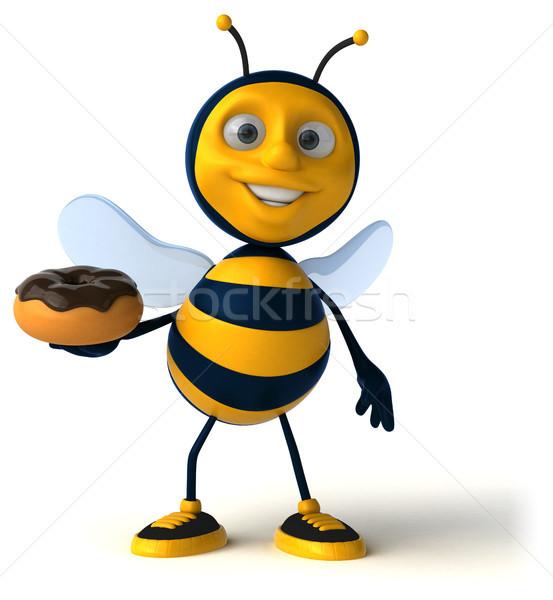 Leuk bee chocolade werknemer honing antenne Stockfoto © julientromeur