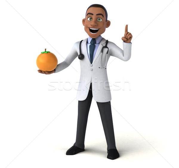 Amusement médecin coeur fruits santé hôpital Photo stock © julientromeur