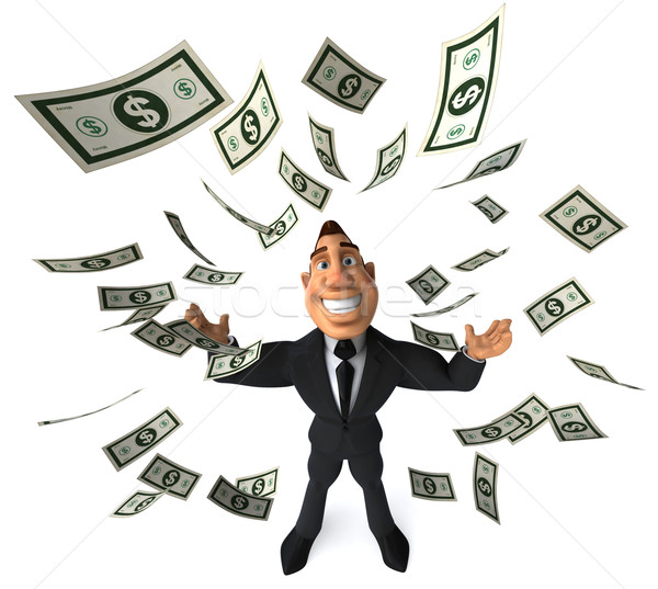Zengin işadamı iş adam başarı gömlek Stok fotoğraf © julientromeur
