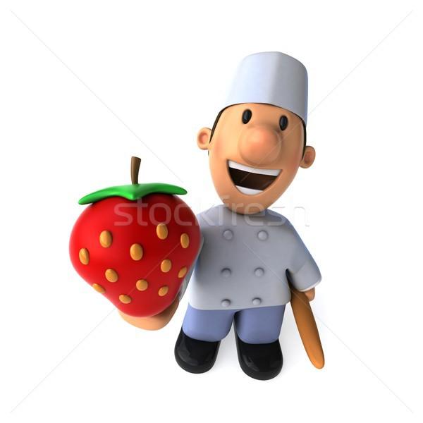 Fun baker - 3D Illustration Stock photo © julientromeur