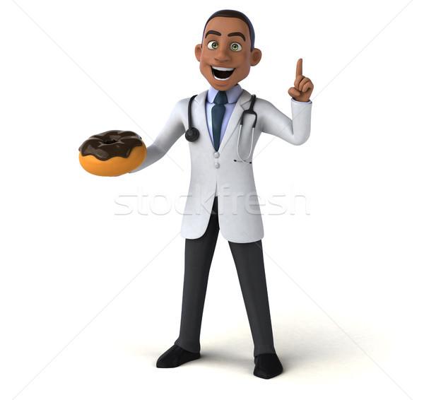 Amusement médecin coeur santé chocolat hôpital Photo stock © julientromeur