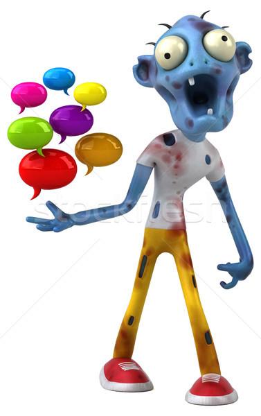 Fun zombie - 3D Illustration Stock photo © julientromeur