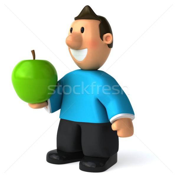 Zabawy przypadkowy człowiek 3d ilustracji Zdjęcia stock © julientromeur
