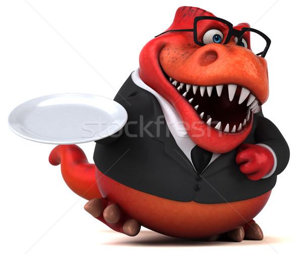 весело 3d иллюстрации бизнеса продовольствие бизнесмен Финансы Сток-фото © julientromeur