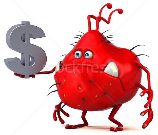 Leuk kiem 3d illustration geld financieren grafische Stockfoto © julientromeur
