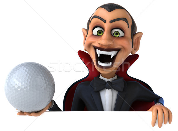 вампир гольф искусства рот мяча губ Сток-фото © julientromeur