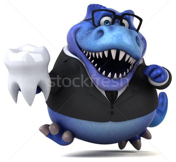 Diversão ilustração 3d negócio empresário financiar dentes Foto stock © julientromeur