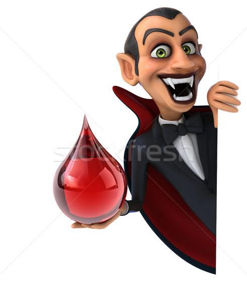 вампир кровь искусства рот красный губ Сток-фото © julientromeur