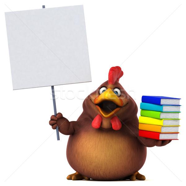 Fun chicken Stock photo © julientromeur