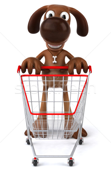 Dog shopping Stock photo © julientromeur