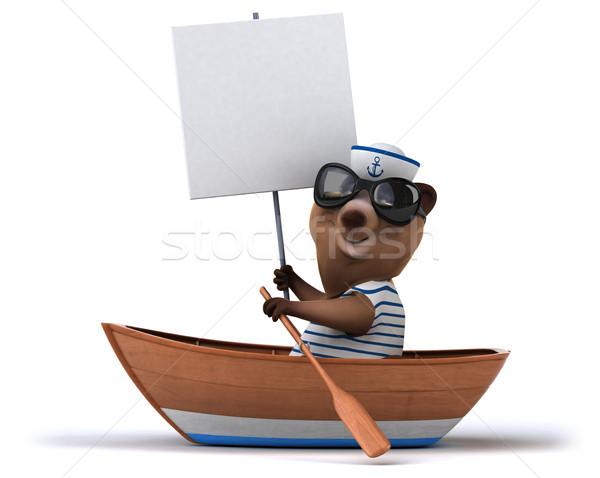 Fun bear Stock photo © julientromeur