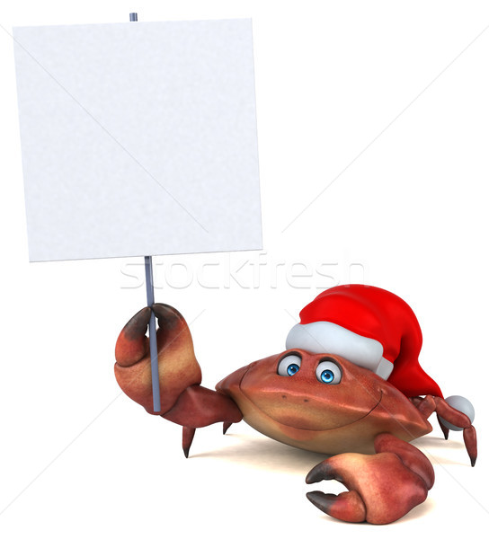 Fun crab - 3D Illustration Stock photo © julientromeur