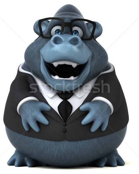 Fun gorilla - 3D Illustration Stock photo © julientromeur