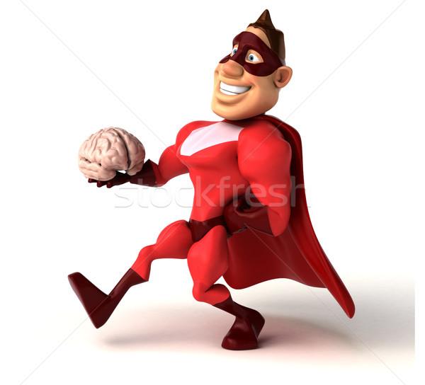 Diversión hombre cuerpo cerebro velocidad Foto stock © julientromeur
