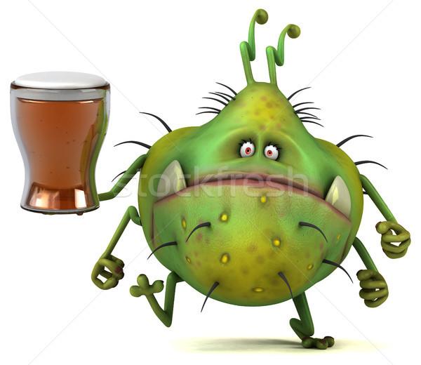 Diversión 3d cerveza salud gráfico Foto stock © julientromeur
