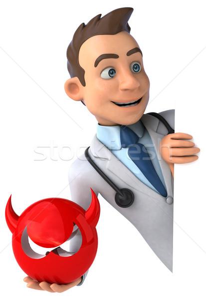 весело врач сердце здоровья больницу науки Сток-фото © julientromeur