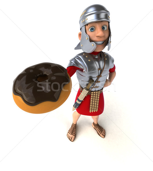 Roman soldier Stock photo © julientromeur