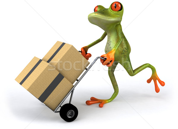 Frog moving Stock photo © julientromeur