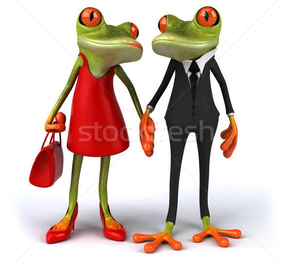 Fun frogs Stock photo © julientromeur