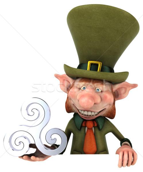 Fun leprechaun - 3D Illustration Stock photo © julientromeur
