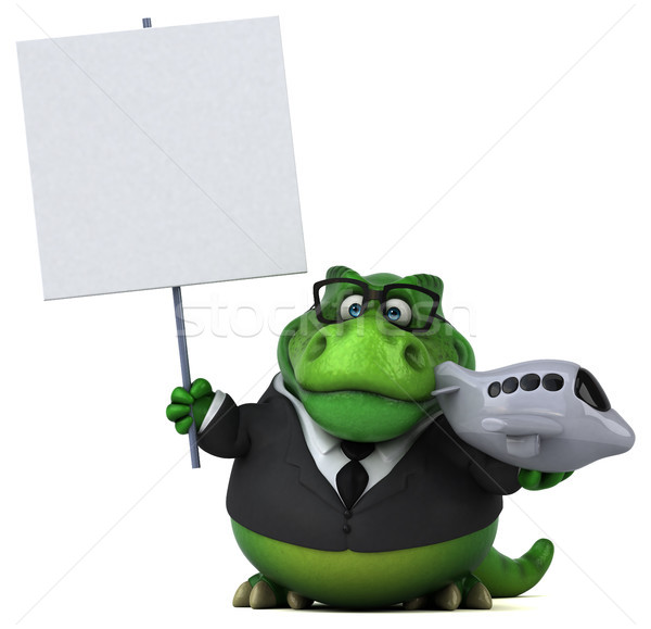 весело 3d иллюстрации бизнеса бизнесмен плоскости Финансы Сток-фото © julientromeur