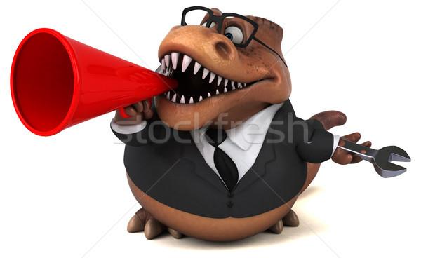 весело 3d иллюстрации бизнеса бизнесмен очки работник Сток-фото © julientromeur