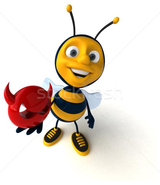Leuk bee veiligheid werknemer honing kwaad Stockfoto © julientromeur