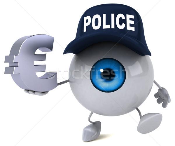 Auge Licht Schönheit Medizin blau Finanzierung Stock foto © julientromeur