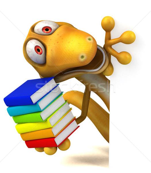 楽しい トカゲ 学校 教師 色 動物 ストックフォト © julientromeur